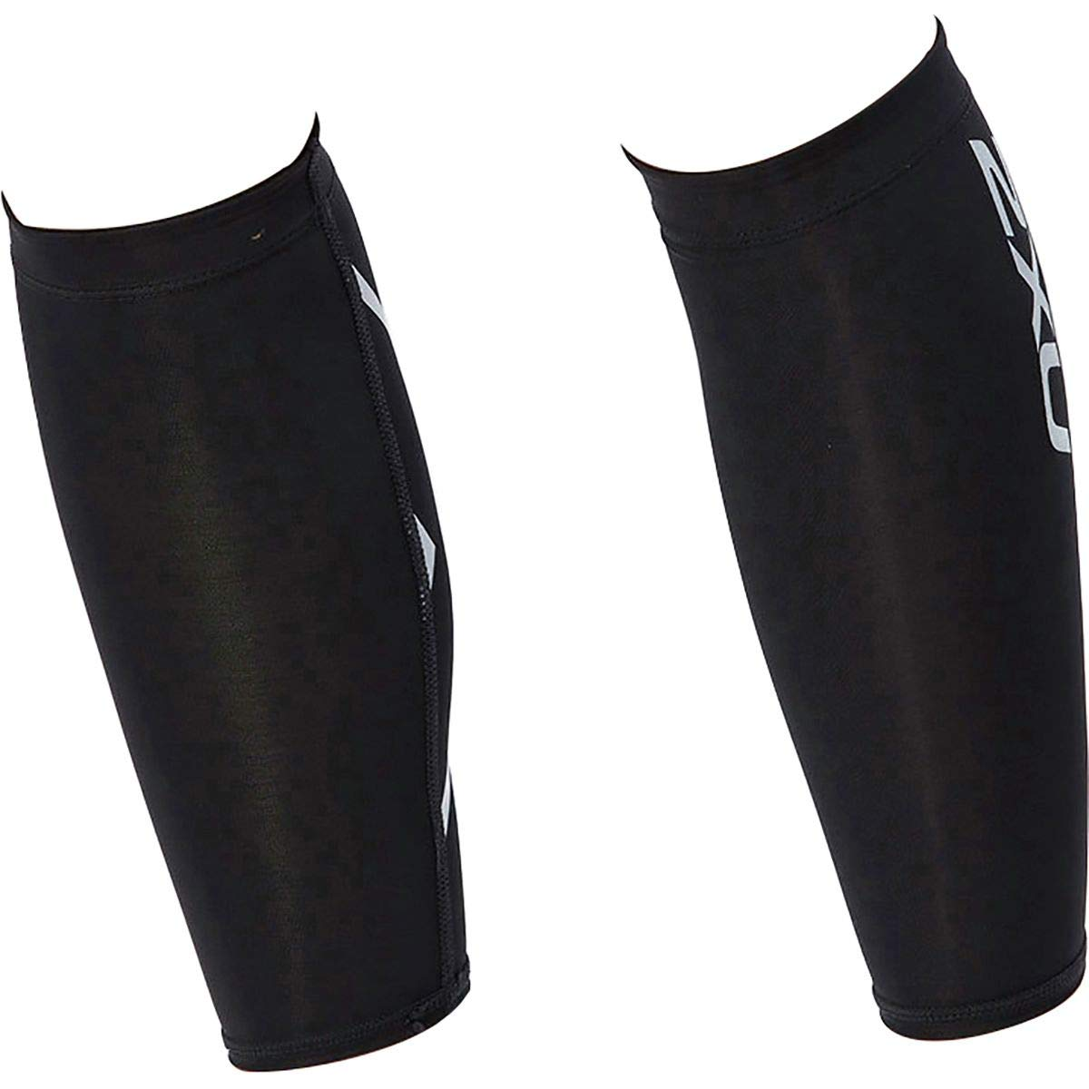 2XU Compression Calf Guard Textured Mesh