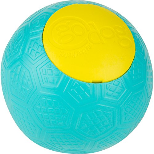goDog Rhino Play Beast Toy, Large, Teal