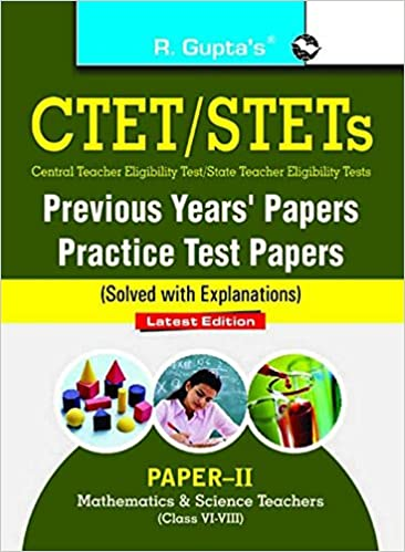 Buy CTET/STETs: Practice Test Papers & Previous Papers (Solved