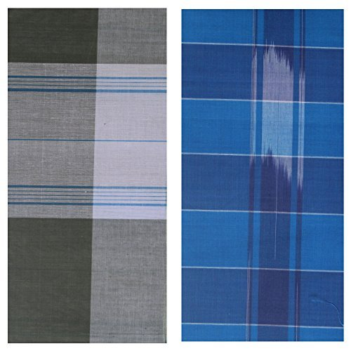 kissan-silver-mens-cotton-lungi-multi-coloured-2-meter