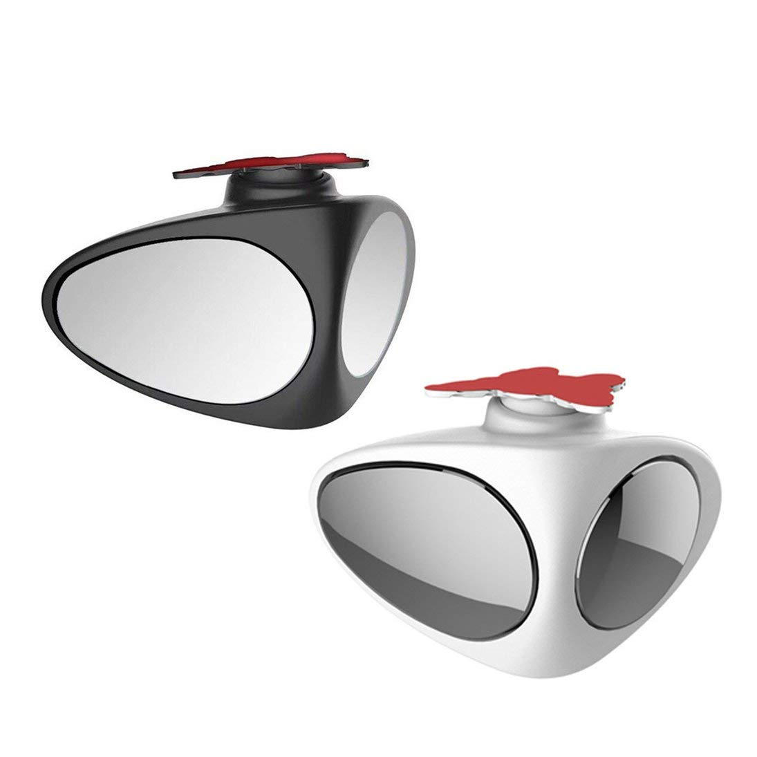 Togames-FR Car Blind Spot Miroir Miroir Grand Angle 360 Rotation r/églable Convex Vue arri/ère R/étroviseur Roue Avant Miroir Voiture
