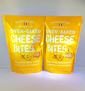 Trader Joe's Trader Giotto's Oven-Baked, Gluten-Free, Low Carb Cheese Bites (2-pack)