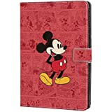 DC Faner Case for Amazon Fire HD 10, Kindle Fire HD 10 Case (7th Generation - 2017 Release) Slim Leather Smart Case Cover with Auto Wake/Sleep for Fire HD 10 Tablet - Retro Mickey