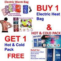 A To Z Sales BUY 1 Electro thermal Water Bag and GET 1 Hot & Cold Pack FREE