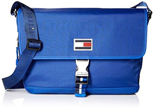Tommy Hilfiger Th Sport Eyelets-Ripstop Ny Messenger Bag, Cobalt by Tommy Hilfiger