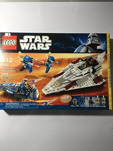 Mace Windu Starfighter - LEGO Mace Windu's Jedi Starfighter 7868