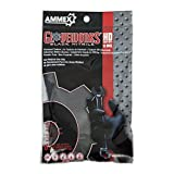 AMMEX - GWHD6PKBLK-S - Nitrile Gloves - Gloveworks - 6/Pack, Heavy Duty, Disposable, 6 mil, Uni-Size, Black (Pack of 6)