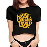 TLK Custom Women Zac Brown Band Logo Contrast Color Unlined Upper Garment