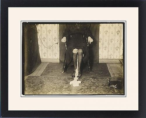 Framed Print Of Goligher Ectoplasm by Prints Prints Prints