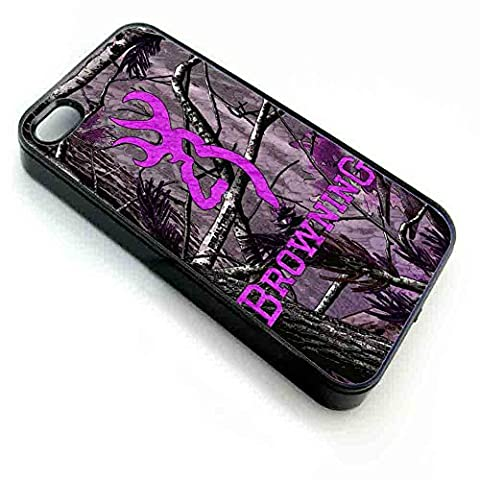 Purple Browning, Iphone Case (iPhone 6 plus black) (Browning Cell Phone Cases)