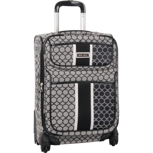 ninewest-luggage-sign-me-up-20-inch-expandable-spinner-black-ivory-one-size
