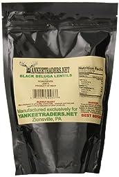 Yankee Traders Lentils, Black Beluga, 1 Pound