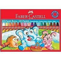 Faber Pastel Boya 18 Renk Redline Karton Kutu