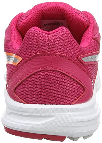 Puma Descendant V3 - Zapatillas de running Mujer Rojo (Rose Red/Puma Silver/Fluo Peach)