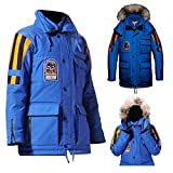 NM Fashions Star The Empire Wars Strikes Back Frozen Tndra New Cotton Parka Removable Hood Jacket