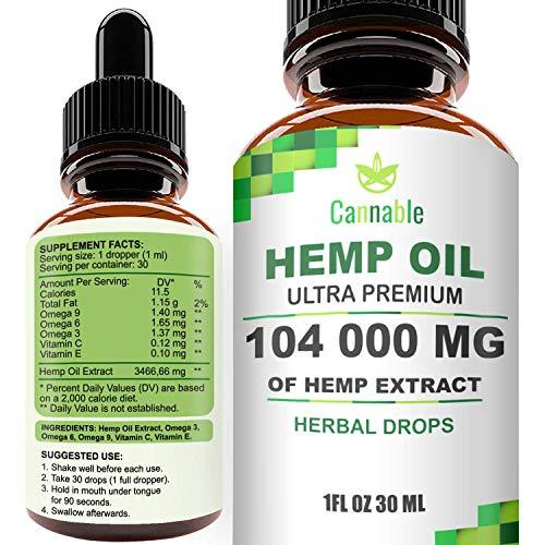 Hemp Oil Extract 104
