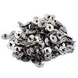 600 Pcs 0.5''(12.5 mm) Metal Candle Wick Sustainer Tabs Wick Tabs For Candle Making,Candle DIY BY DINGJIN