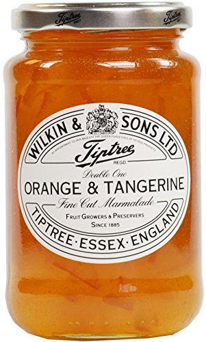 Tiptree 'Double One' Orange & Tangerine Marmalade With Fine Cut Peel 454g - Jar 454g