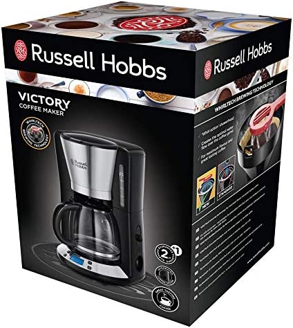 Russell Hobbs Victory - Cafetera de Goteo (Jarra Cafetera para 15 ...