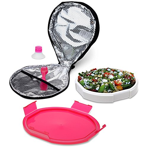 Smart Planet Portion Perfect Ultrathin Salad Book, Red