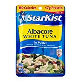 StarKist White Albacore Tuna Pouch in Water, 2.6