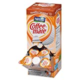 Coffee-mate 79129CT Liquid Coffee Creamer Vanilla Caramel 0.375 oz Cups 50/Box 4 Box/Carton