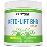 Keto BHB Salts Supplement with goBHB - Beta Hydroxybutyrate Ketones to Achieve Perfect Ketosis - Sodium, Calcium & Magnesium for Workouts & Muscle Support - Promotes Weight Loss + Energy & Focus