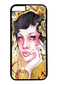 Case For HTC One M8 Cover and Cover -Beauty portrait 2 PC for Case For HTC One M8 Cover and iCase For HTC One M8 Cover inch Black