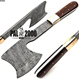 Custom Handmade Damascus Steel Hunting Axe -Sword/Chef Kitchen Knife/Dagger/Full Tang/Skinner/Axe/Billet/Cleaver/Bar/Folding Knife/Kukri/knives accessories/survival/Camping With Sheath 9200