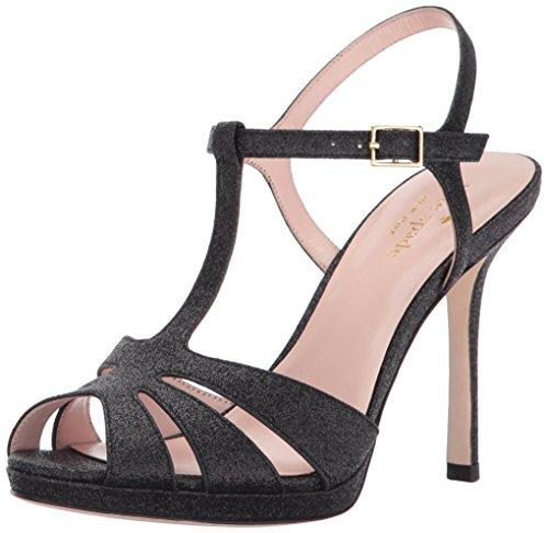 New York High Heels (Kate Spade New York Women's feodora, Black, 5 M US)