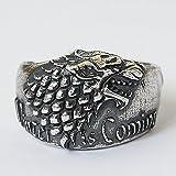 Game of thrones, Stark ring, Stark jewelry, House stark, Direwolf ring, Wolf ring, Wolf jewelry, Direwolf jewelry, Silver 925 ring, Silver