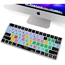 XSKN Apple Magic Keyboard Cover Functional Final Cut Pro X 10 Shortcut Silicone Skin Protective Film for Magic Keyboard MLA22B/A, US Layout