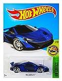 (US) Hot Wheels, 2016 HW Exotics, McLaren P1 [Blue] 71/250