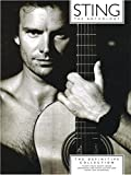 Sting Anthology: The Definitive Collection. Partitions pour Piano, Chant et Guitare(Boîtes d'Accord)