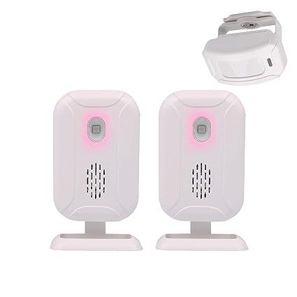 Mengshen Inalámbrico sensor de movimiento infrarrojo de alarma timbre alarma de ladrón para la tienda de