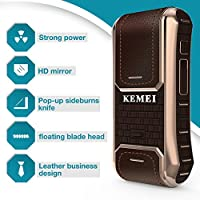 Kemei Km-5300 - Afeitadora eléctrica de piel para hombre (2 en 1 ...
