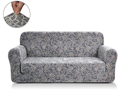 Chunyi Coral Fleece Sofa Covers 1 Piece Polyester Spandex Fabric