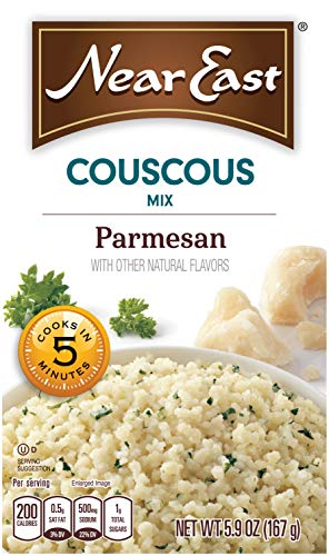 Parmesan Vegetarian (Near East Couscous Mix, Parmesan Cheese 5.9oz. (Pack of 12))