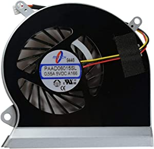 Rangale CPU Cooling Fan Replacement for MSI GE60 MS-16GA MS-16GC CPU-VGA Series Laptop E33-0800401-MC2 PAAD06015SL