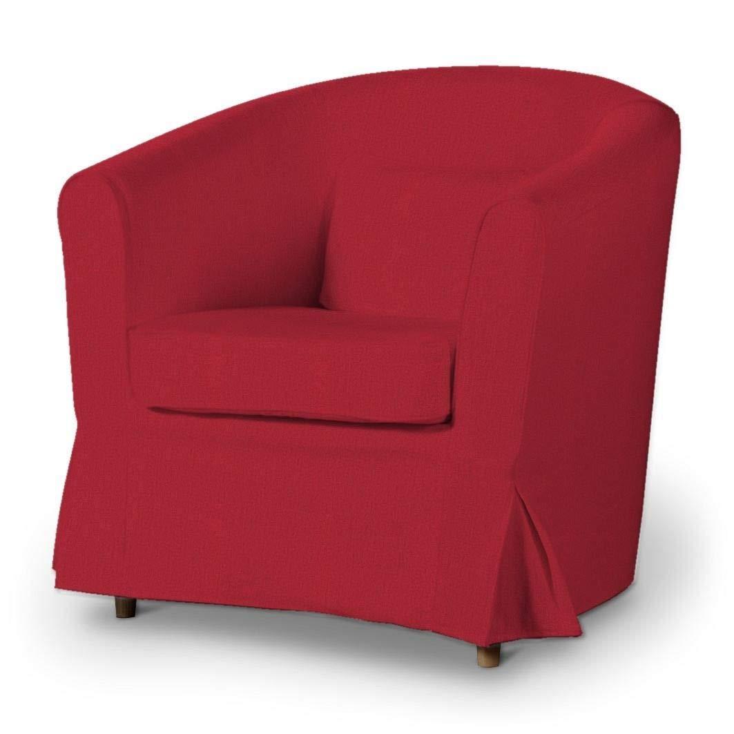 Dekoria Ektorp Tullsta Sesselbezug Sofahusse passend für IKEA Modell Ektorp rot