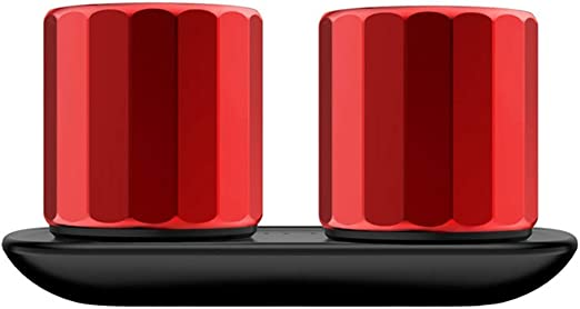 HZK Un Mini Altavoz Bluetooth par 2-Pack con emparejamiento ...