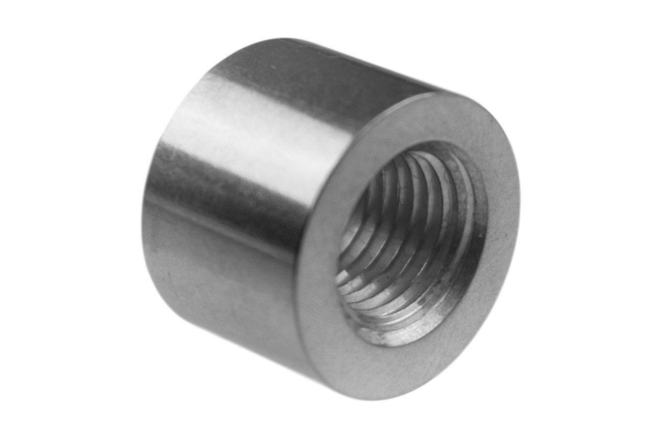 Aluminum 1//4 NPT Weld On Bung Female Nut Threaded Insert Weldable 617-6702AL