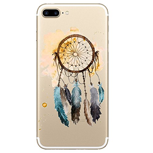 Price comparison product image iPhone 8 Plus Case Crystal Clear Shock Absorption Technology Bumper Soft TPU Case For iPhone 8 Plus (7, iPhone 8 Plus)