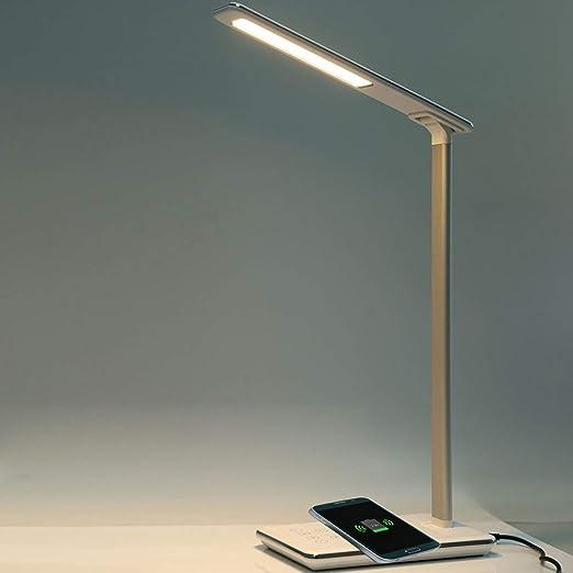 Nueva Lámpara De Escritorio LED Lámpara De Mesa Plegable 4 Luz De ...