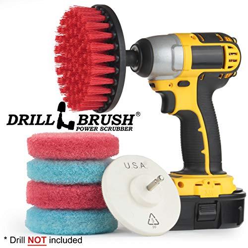 Cleaning Supplies - Outdoor - Garden - Patio - Deck Brush -