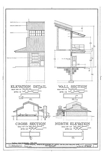 Historic Pictoric Blueprint Diagram HAER Utah,6-Lay.V,1BL- (Sheet 3 of 3) - Ogden Arsenal, Warehouse-Assembly & Loading Line Building, 6325 Poplar Lane, Layton, Davis County, UT 08in x 12in