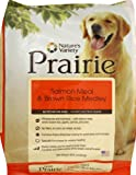 Prairie Salmon Meal and Brown Rice Medley Dry Dog Food by Nature's Variety, 30-Pound Bag, My Pet Supplies