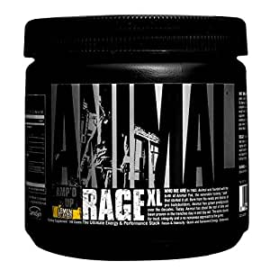 Universal Nutrition Animal Rage XL, Lemon Slayed, 30 Servings