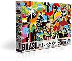 Quebra-Cabeça 2000 Peças Brasil Lo Toyster Brinquedos