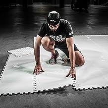 HockeyShot Allstar Dryland Flooring Tiles Hockey Training Aids | Fun Hockey Training Equipment | Skills: Shooting, Passing, Stick-Handling | Interlock, Indoor & Outdoor